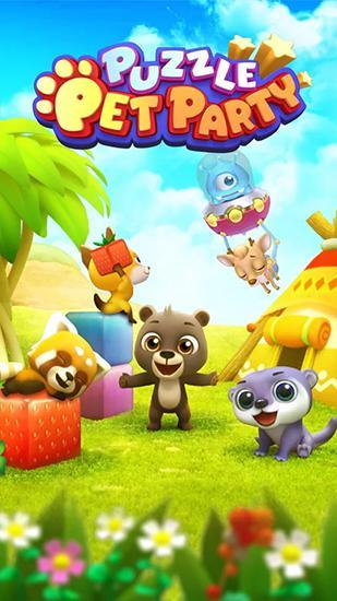 Puzzle pet party ícone