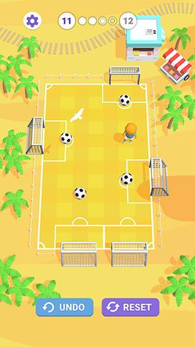 Slide goal hero for Android