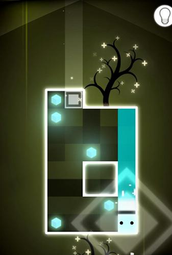 Logikspiele Smashy the square: A world of dark and light für das Smartphone