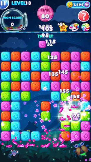 Arcade-Spiele Pop candy für das Smartphone