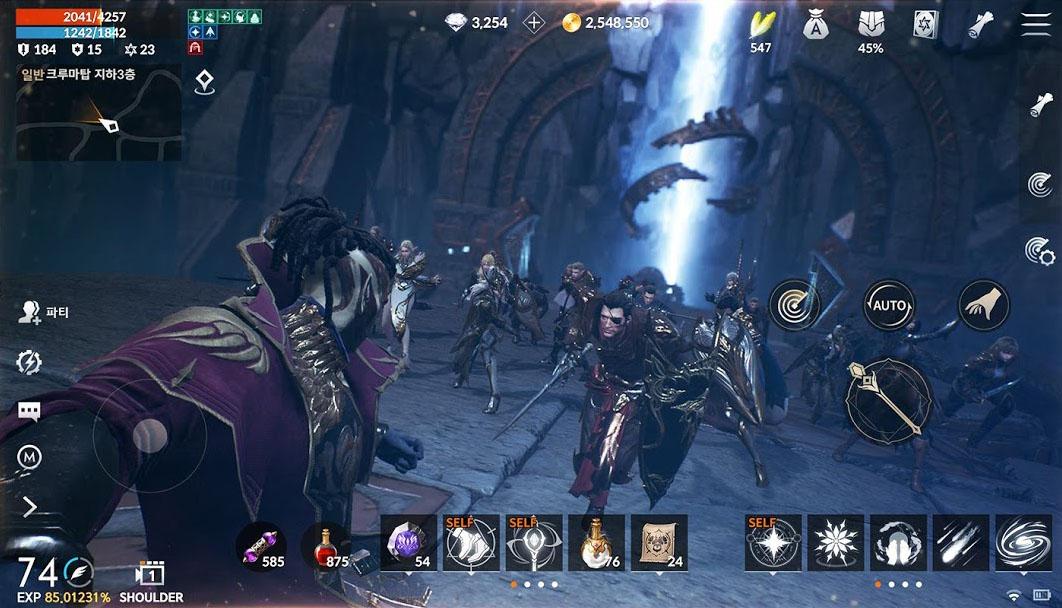 MMORPG Lineage 2M em portugues
