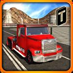 Modern trucker 3D icon