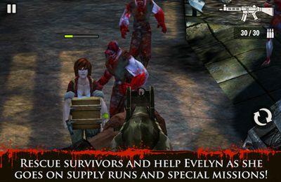 Screenshot Contract Killer: Zombies on iPhone