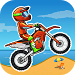 Moto X3M: Bike race game icône