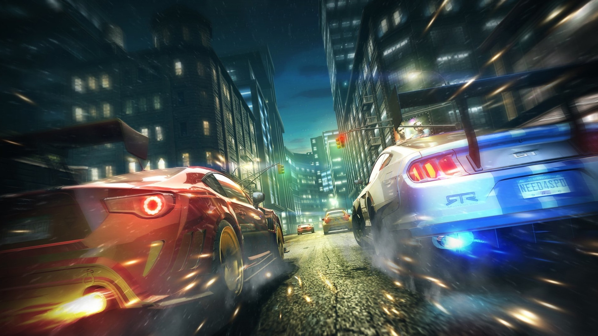 free Street racing games
