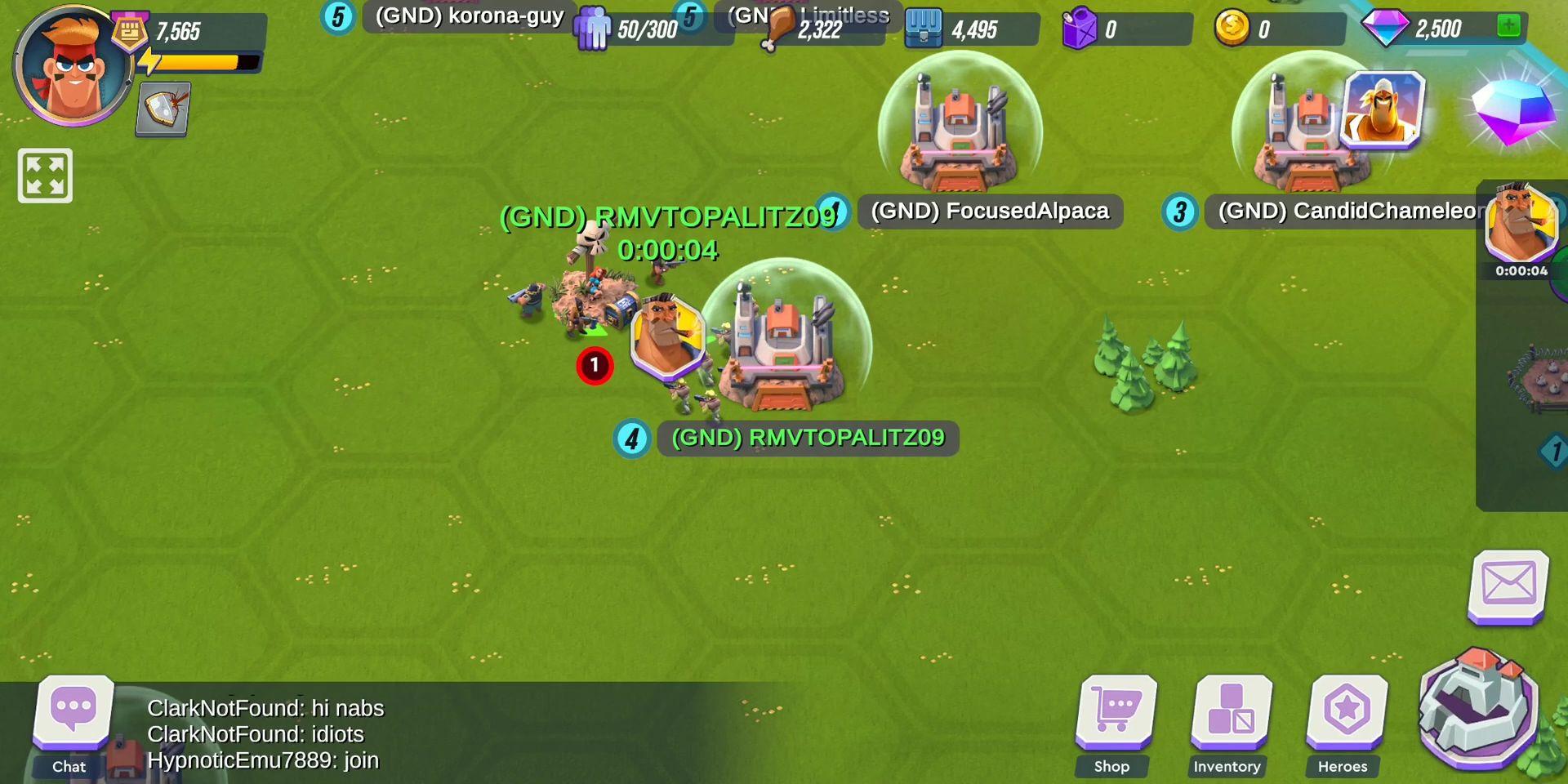 Hardhead Squad: MMO War capture d'écran 1