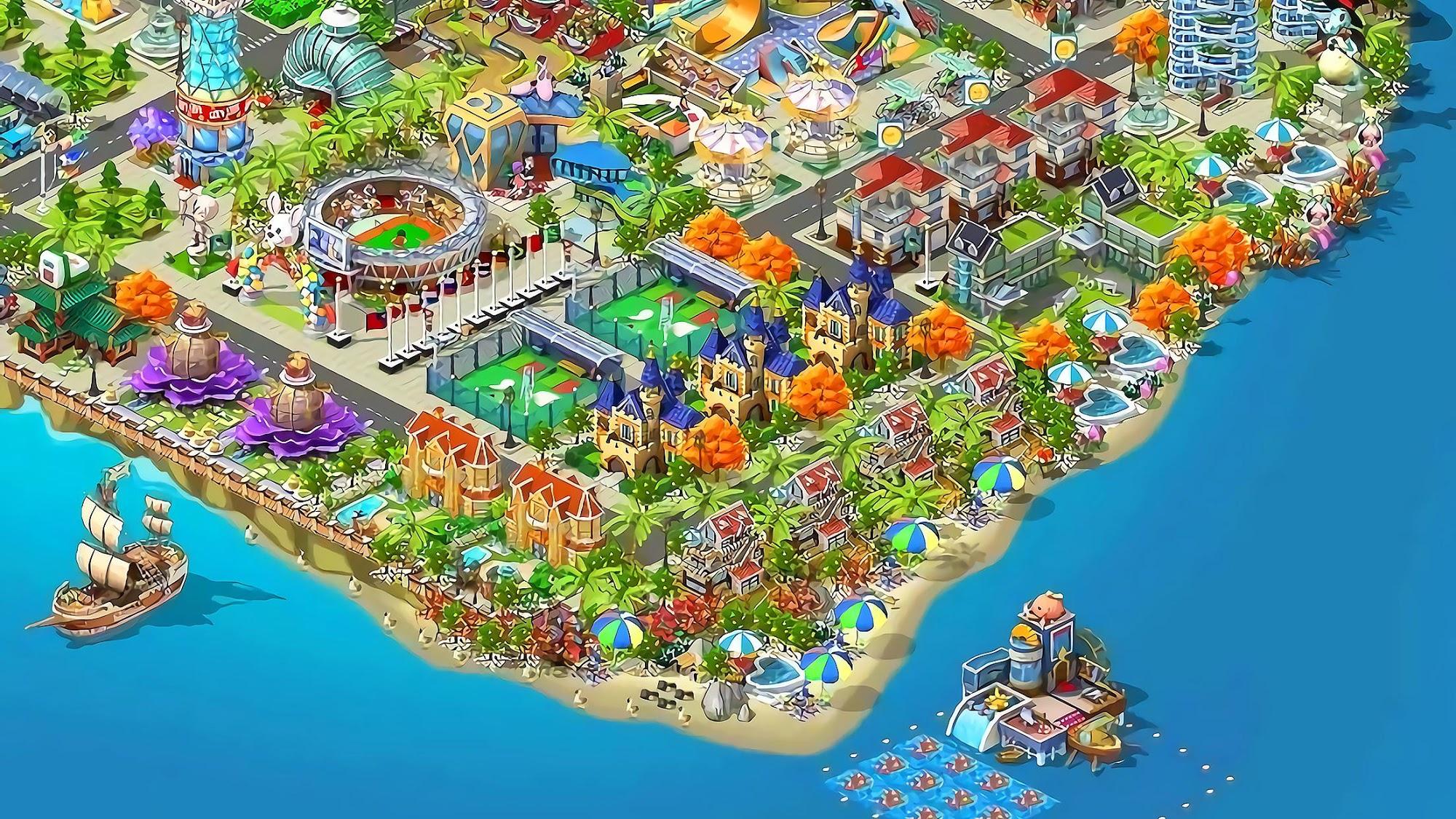 Lily City: Building metropolis für Android