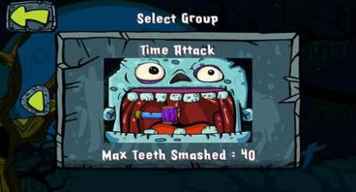 Screenshot Zombie-Zahnarzt auf dem iPhone