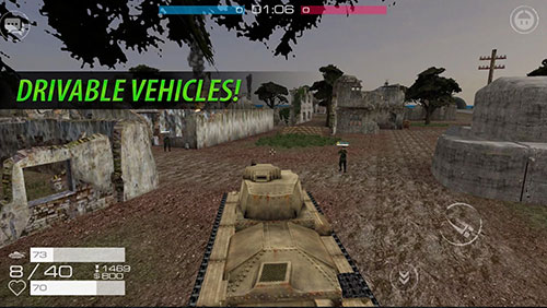 Vanguard online: WW2capturas de pantalla