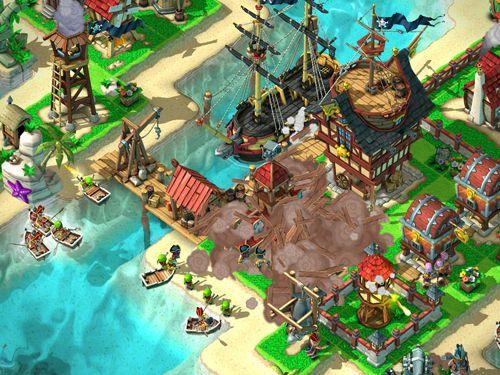 Captura de tela Assalto de piratas no iPhone