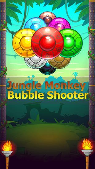 Jungle monkey bubble shooter скріншот 1
