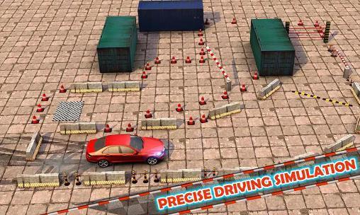 Simulator-Spiele Ultimate car parking 3D für das Smartphone