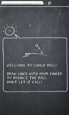Logikspiele Chalk Ball für das Smartphone