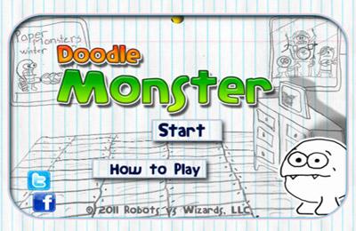 logo Doodle Monster