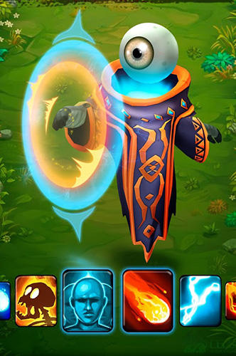 RPG Clash of wizards: Epic magic duel für das Smartphone