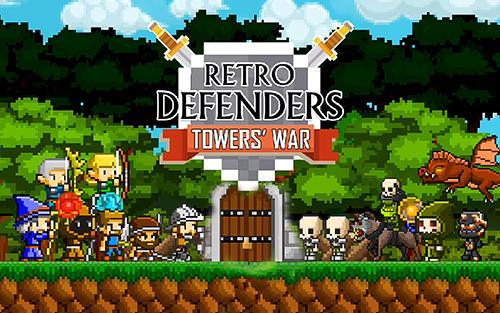 Retro defenders: Towers' war Screenshot