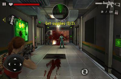 Screenshot Vertragskiller auf Zombiejagd 2 auf dem iPhone