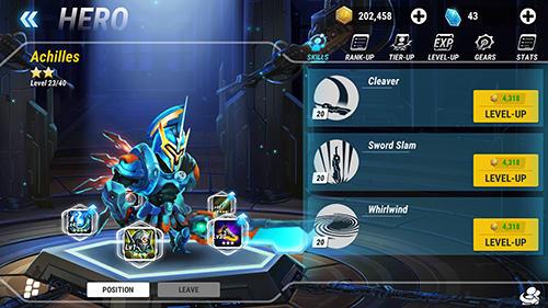 RPG Heroes infinity für das Smartphone