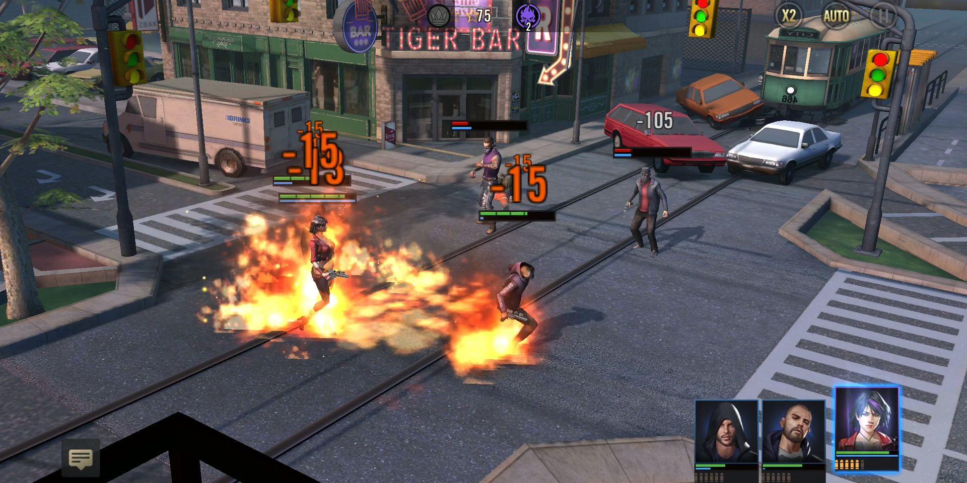 Crime Kings: mafia city capture d'écran 1