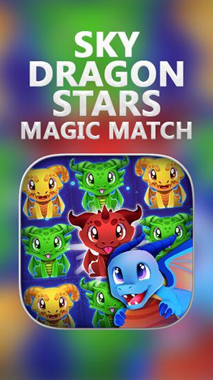 Sky dragon stars: Magic match captura de pantalla 1