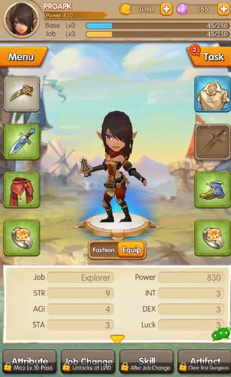 Idle monster für Android