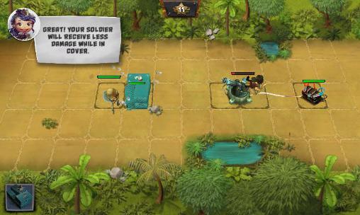 Onlinespiele Take cover für das Smartphone