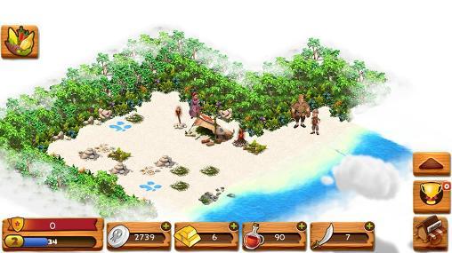 Simulator-Spiele Skull island für das Smartphone