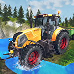 Иконка Tractor driver cargo 3D