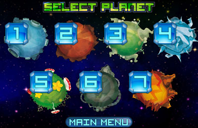 Arcade games: download Alien March to your phone
