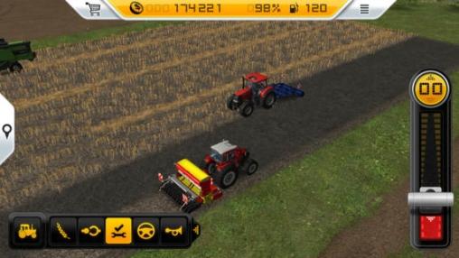 Wirtschaftsspiele Farm-Simulator 14 auf Deutsch