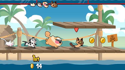 Pets race: Fun multiplayer racing with friends Screenshot