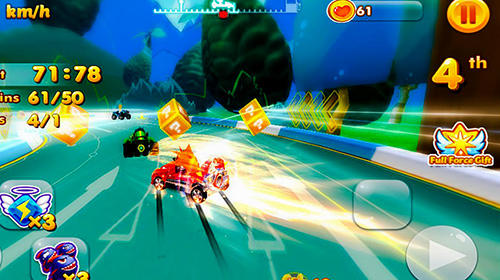 Bandicoot kart racing for Android
