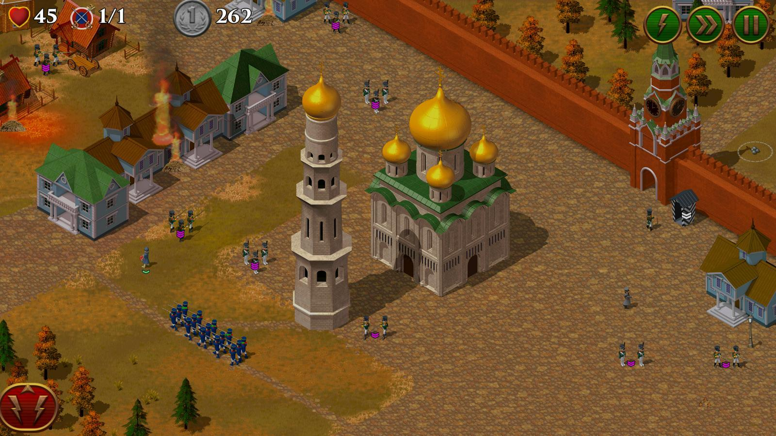1812. Napoleon Wars TD Tower Defense strategy game скріншот 1