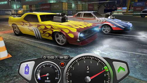 Screenshot Top speed: Drag and fast racing on iPhone