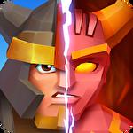 Pixel wars: MMO action Symbol