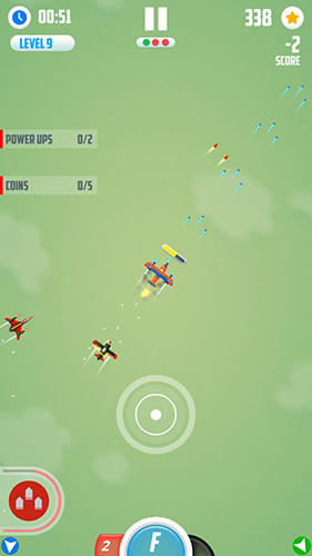 Man vs missiles: Combat для Android