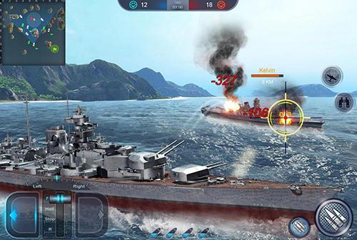 Spiele mit Schiffen Fleet glory auf Deutsch
