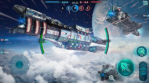 Space armada: Galaxy wars Screenshot