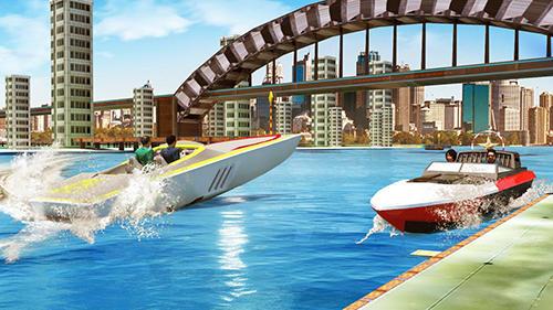 Boat simulator 2017 Screenshot
