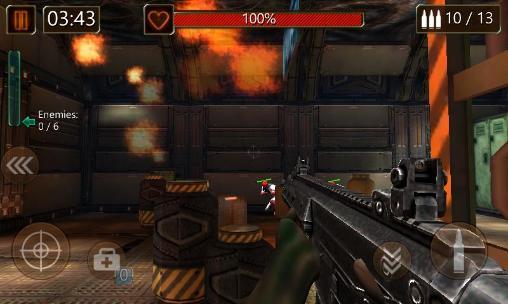 Modern commando: Sniper killer. Combat duty für Android