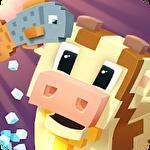 Blocky farm ícone