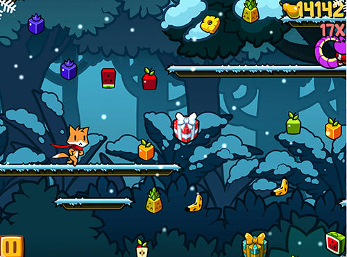 d'arcade Run Tappy run Xmas pour smartphone