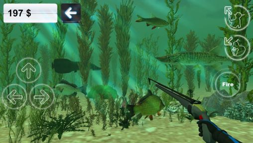 Hunter underwater spearfishing for Android