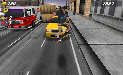 Arcade Pepi skate 2 für das Smartphone
