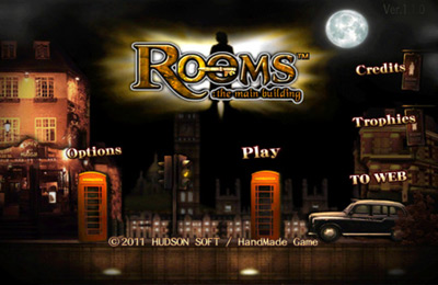 logo Rooms:The Main Building