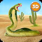 King cobra snake simulator 3D Symbol