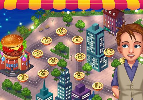 Food court fever: Hamburger 3 Screenshot