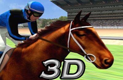 logo Carrera de caballos virtual 3D