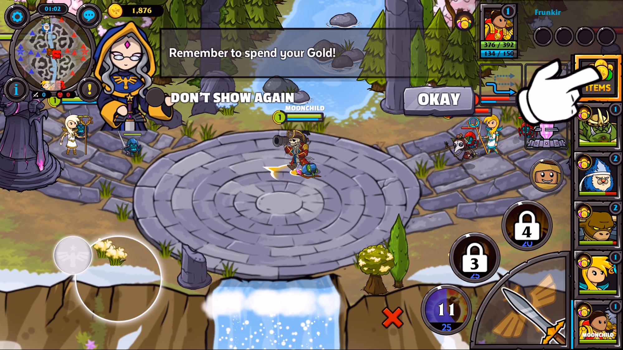 Mini Legends screenshot 1