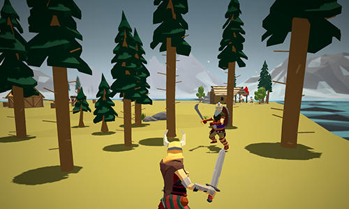 Strategiespiele Viking village: RTS für das Smartphone